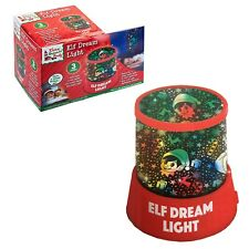 Weihnachtselfe Traum Nachtlicht LED Projektion Farbwechsel Elfen Behavin Schwer