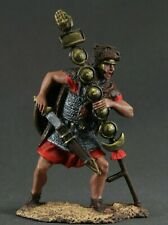 Painted Toy tin soldiers 54 mm. Roman signifer, 3-2 BC.