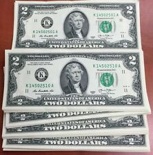 Billet 2 dollars 2013 NEUF collection