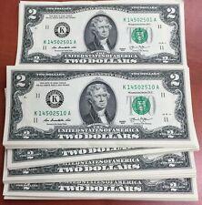 Etats-Unis Billet 2 dollars 2013 NEUF