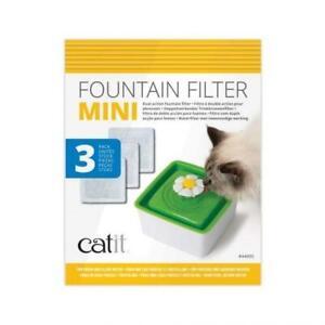 CATIT SENSES FLOWER WATER FOUNTAIN MINI CARTRIDGE 3PK
