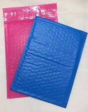 "100 (50 Blue 50 Pink) 6"" x 9"" #0 Color Poly Bubble Padded Mailers Self Seal"