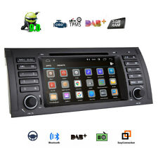 "Auto Car 1 DIN DVD GPS Android 9.0 7"" HD Stereo Radio Headunit for BMW X5 E53"