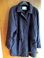 Ladies Dannimac three quarter black jacket, lightweight, possibly 90's