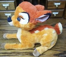 Disney Store Exclusive Bambi Lying Plush Stuffed Animal Patch Cartoon Deer Fawn