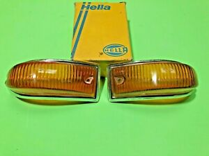 Opel Kadett A Front Turn Signal Light Lens Set Blinklicht vorne NOS