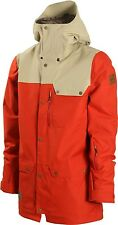 2016 NWT MENS DAKINE WYEAST JACKET $260 L brickdune waterproof