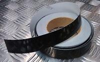 Genuine British MOD Strip Marking Black Reflective Self Adhesive All Lengths NEW