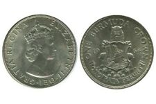 1 Couronne Elisabeth II Bermudes Argent 1964