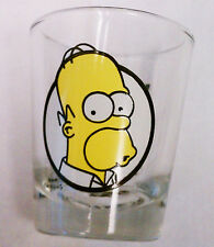 HOMER SIMPSON Woo Hoo SHOTGLASS  Shot glass Drinking Glass the Simpsons recipe
