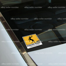 baratheon parking permit  decal sticker game of thrones