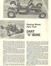 WOW! Vintage 1960's Rupp Dart Kart A-Bone Kart Test