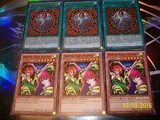 3x Harpie Lady Sisters + 3x Harpie Lady Phoenix Formation LCJW Yu-Gi-Oh!