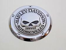 Harley Davidson Skull Totenkopf Derby Cover Kupplungsdeckel Deckel 25700958