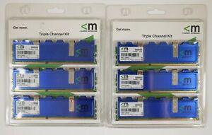 (2) Mushkin Triple Channel Kit Desktop Memory 998659 6GB (3 x 2GB) DDR3 RAM