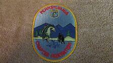 "Pennsylvania B.A.S.S. Chapter Federation Patch - BASS  Logo - 3 3/4"" x 5"" (G 30)"