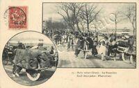 859 - Francia, posta francese in Cina - Cartolina da Tientsin a Boma (Congo)