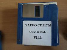 CD Rom zappo overcdv 11.2 juego amiga Original (solo Discos) sólo GC iniciado