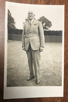 1930's Wimbledon Tennis RPPC; Tournament Official or Retired Player