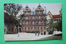 AK Heidelberg 1906-10 Schloss Friedrichsbau Architektur Kunstgeschichte  W9
