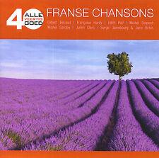 Alle 40 Goed : 40 Franse Chansons / 40 Chansons Françaises (2 CD)