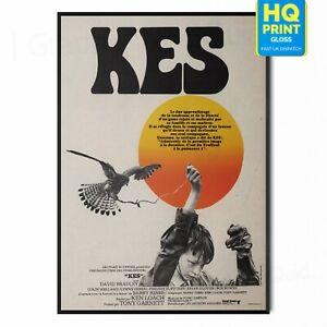 KES 1969 Ken Loach - Movie David Bradley Cinema Restored Film Art Poster Print