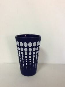 Silipint Silicone Cup Navy Blue With White Dots New 4 Pack
