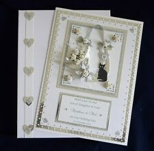 Wedding Day Card + Box Son/Daughter/Sister/Brother/Niece/Friends Personalised