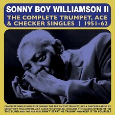 SONNY BOY WILLIAMSON New Sealed 2019 COMPLETE 1951 - 62 2 CD SET