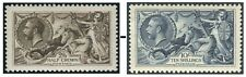 King George V Seahorses Sg 399-Sg 452 Good Used Single Stamps