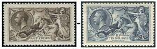 King George V Seahorses Sg 399-Sg 452 Single Stamps