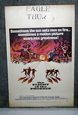 THE FLIGHT OF THE PHOENIX original 1966 movie poster JAMES STEWART/BARRIE CHASE