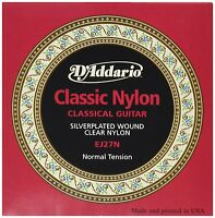 D'Addario EJ27N Student Classics Normal (.028-.043) Classical Guitar Strings