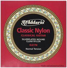 D'Addario EJ27N estudiante Classics Normal (. 028 - .043) Clásica Cuerdas de Guitarra
