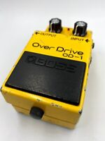 BOSS OD-1 Over Drive '81 Vintage MIJ Guitar Effect Pedal Made in Japan Long Dash