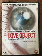 LOVE OBJECT ~ 2003 Cult Sex Doll Obsession / Stalker Horror | UK Retail DVD