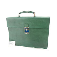 PRADA Business Bag with logo Plate Men Authentic Used P406