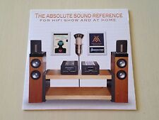 THE ABSOLUTE SOUND REFERENCE FOR HIFI SHOW AND AT HOME AUDIOPHILE DEMO CD