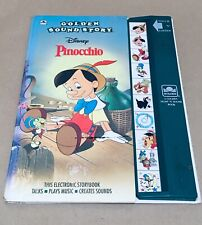 DISNEY'S PINOCCHIO (A GOLDEN SIGHT AND SOUND BOOK)By Ronald Kidd-Hardcover.NICE!