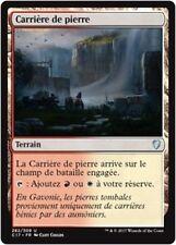 MTG Magic C17 - Stone Quarry/Carrière de pierre, French/VF