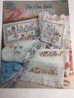 American School of Needlework Nursery Cross Stitch Patterns Baby Sampler