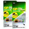 2x GP 23A Alkaline Super batteries 12V MN21 A23 E23A V23GA 3LR50 LRV08 Pack of 1