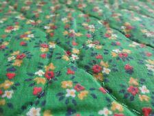 Mini Punto Rosa Tejido Acolchado Blanco Listo Floral Algodón previamente acolchada acolchado JQ24
