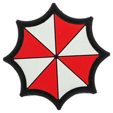 Resident Evil Patches Red Umbrella CORPORATION Morale Badge 3D PVC Patch