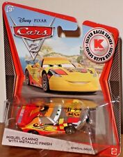 Disney Pixar Cars 2 Miguel Camino with Metallic Finish KMart Silver Racer Series