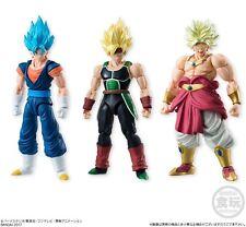Bandai Dragon ball Z Kai SHODO 5 Action Figure Set SS Broly Bardock God Vegetto
