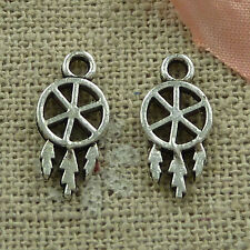 free ship 960 pieces tibetan silver nice charms 15x7mm #2796
