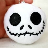 "The Nightmare Before Christmas white jack head ornament key chain 4"" doll toy"
