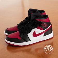NIKE Jordan 1 Mid Bred Toe 554724 066 Mens size