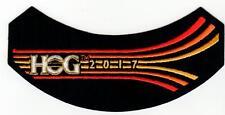 2017 HOG Member Rocker Patch HARLEY DAVIDSON OWNERS GROUP HD MC life